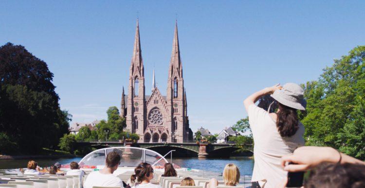 Batorama, bateaux-mouches à Strasbourg