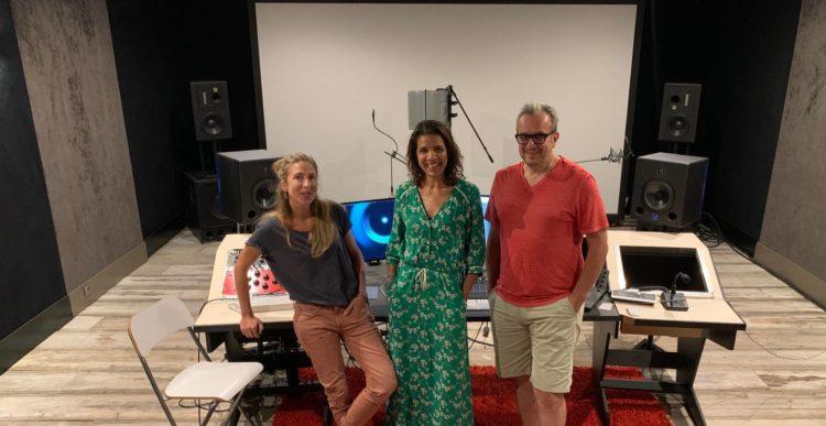 L'équipe du studio Will Production à Strasbourg