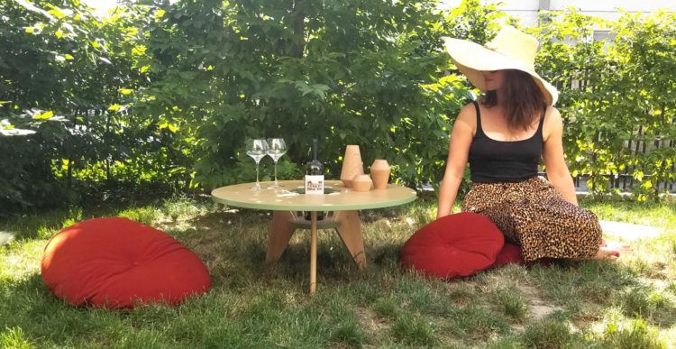 Elodie Contino, créatrice de Roses & Aléas à Strasbourg