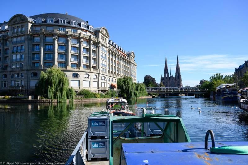 Livraison du dernier kilomètre en centre-ville de Strasbourg