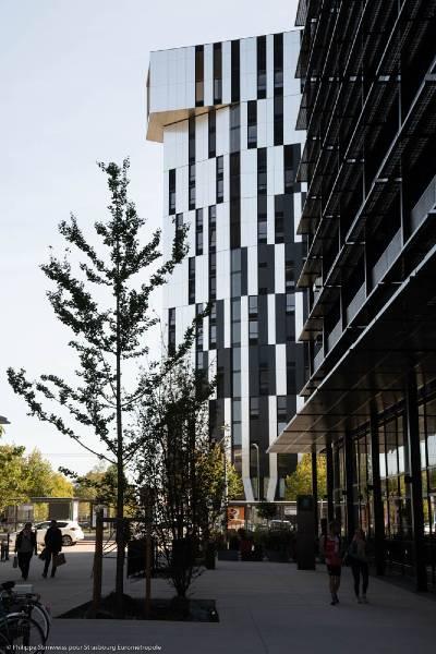 Tour Elithis à Strasbourg : premier immeuble d'habitations à énergie positive au monde
