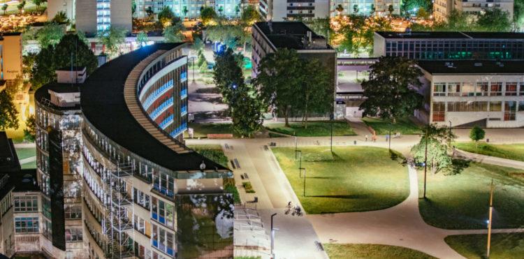 étudier à Strasbourg sur le campus de l'Université de l'Esplanade