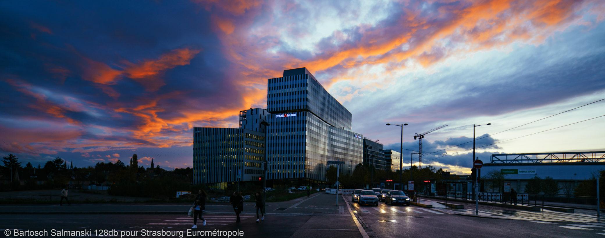 Crédit Mutuel - Archipel - Travailler à Strasbourg - 19-11-07 Quartier Wacken © Bartosch Salmanski - 128db.fr 0018