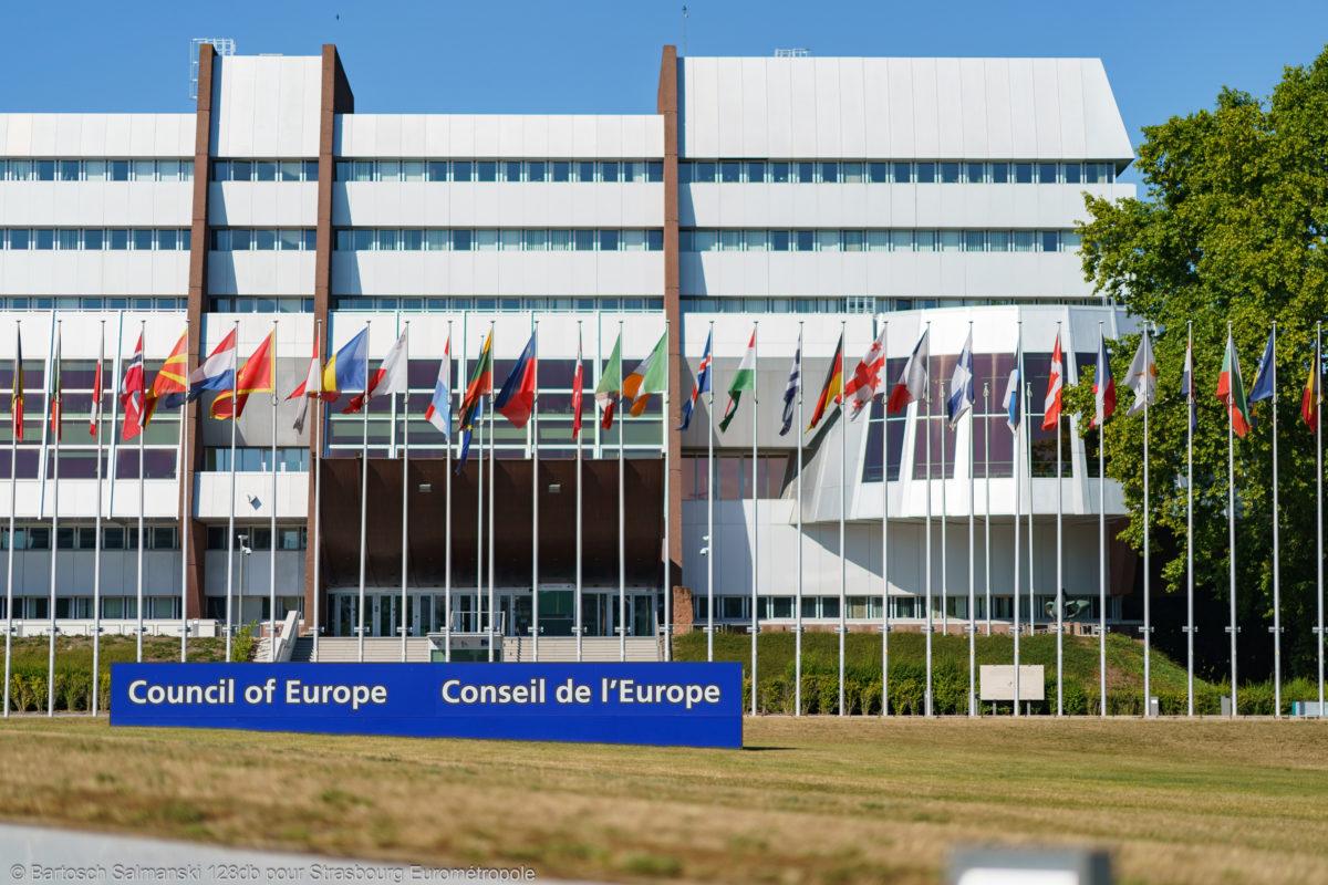 Le Conseil de l'Europe à Strasbourg