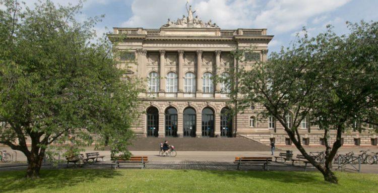 Le Palais Universitaire à Strasbourg