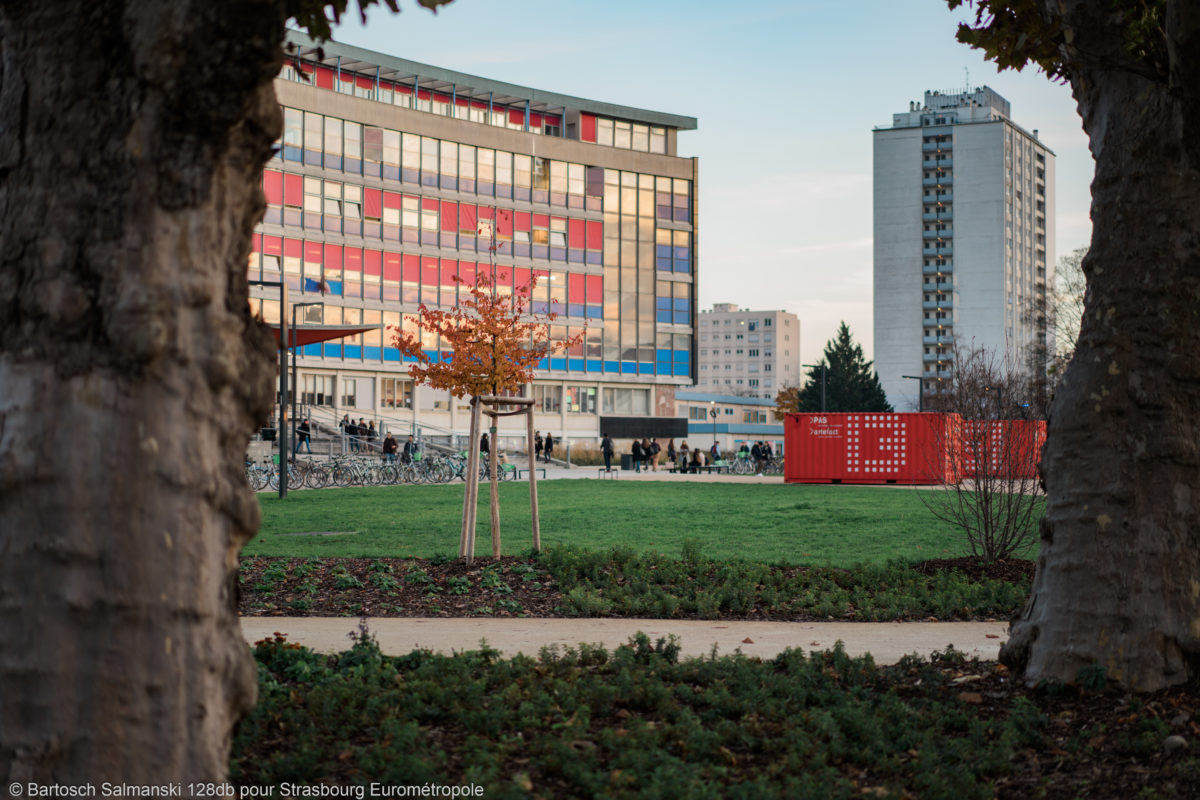 étudier à Strasbourg à la Faculté de Droit sur le campus de l'Université de l'Esplanade