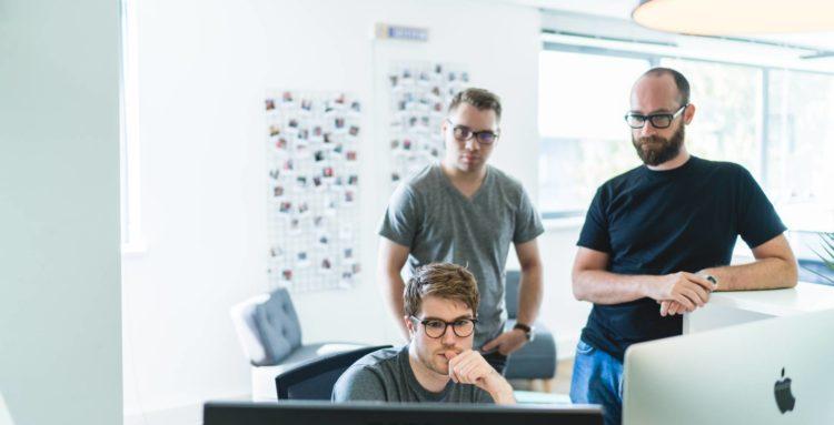 Trois chercheurs membre de la chaire AIARD de l'INSA Strasbourg