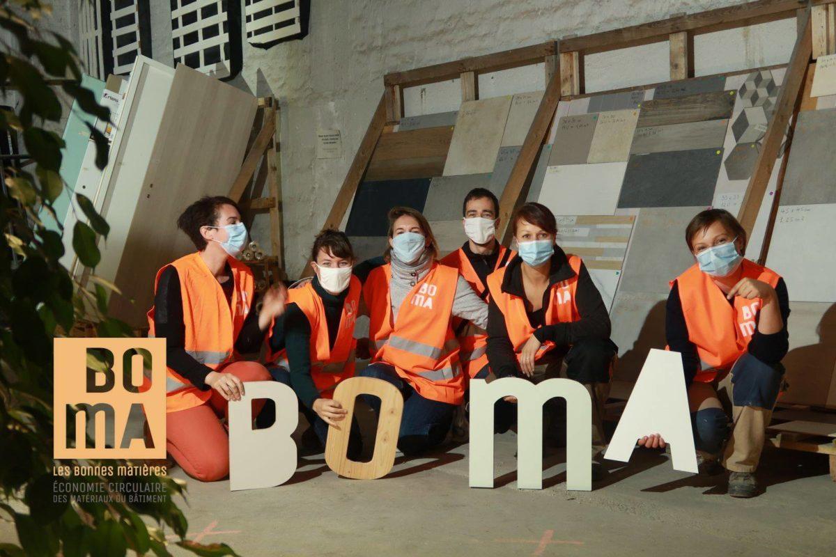 Equipe de la start'up BoMA à Strasbourg