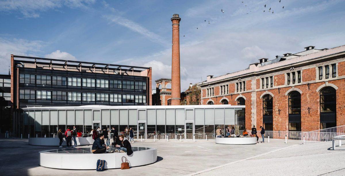 Architecture de l'EM Business School à Strasbourg