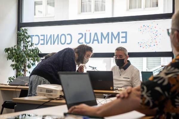 Formation au numérique chez Emmaüs Connect à Strasbourg