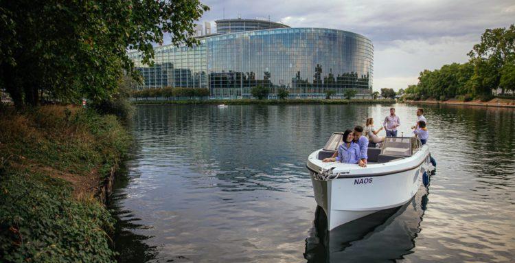 Nao, le bateau-taxi électrique de Batorama à Strasbourg