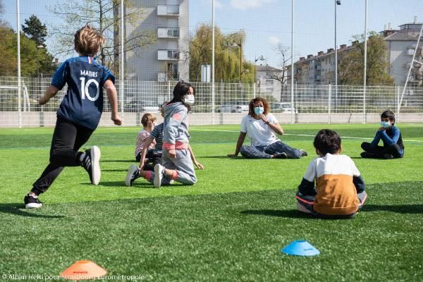"""Jeunes bénéficiaires du programme """"Ose ton avenir"""" à Strasbourg"""