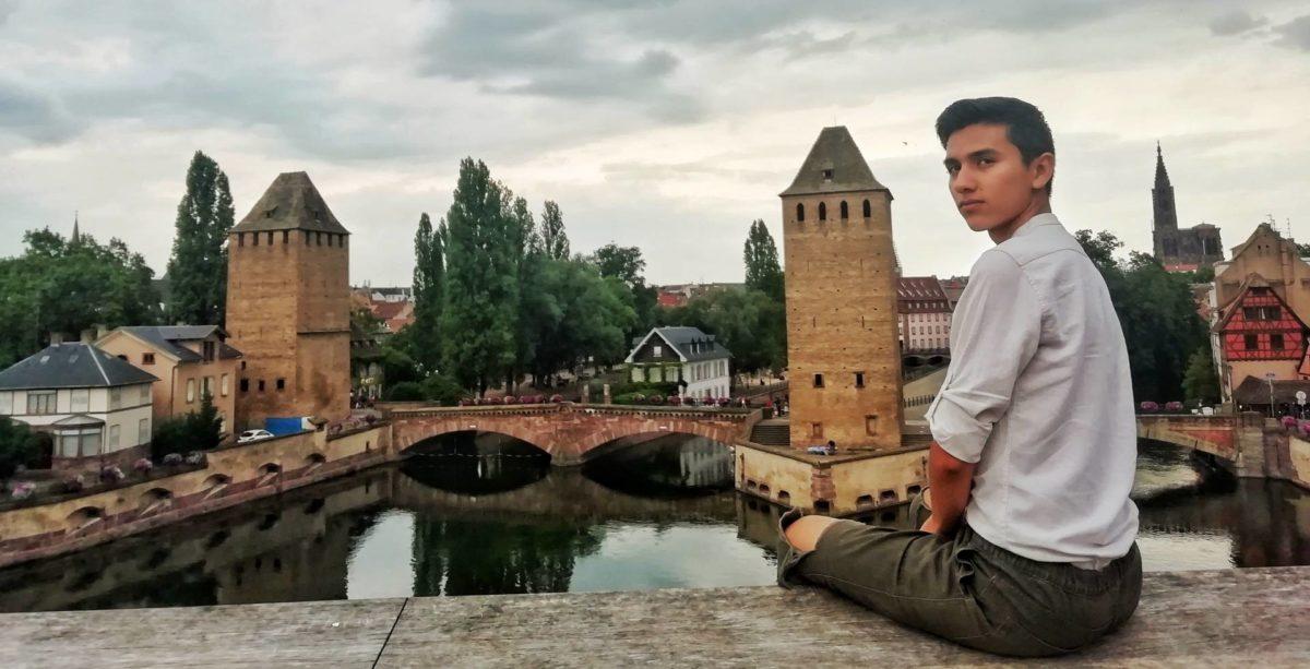 paysage citadin sur Strasbourg